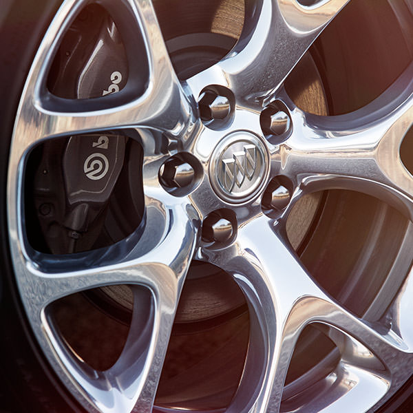 2017 Buick Regal Alloy Wheels