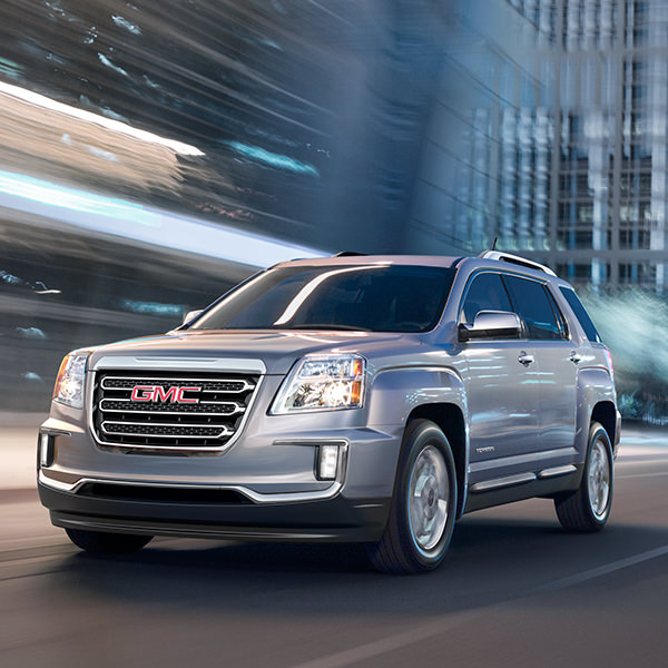 2017 GMC Terrain Exterior at Night