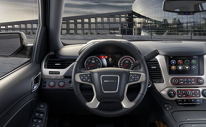 2016 GMC Yukon interior Design and Features