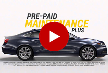 Chevy Pre-Paid Maintenance