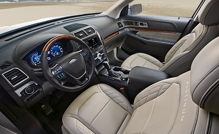 2017 Ford Explorer Advanced Safety Technology