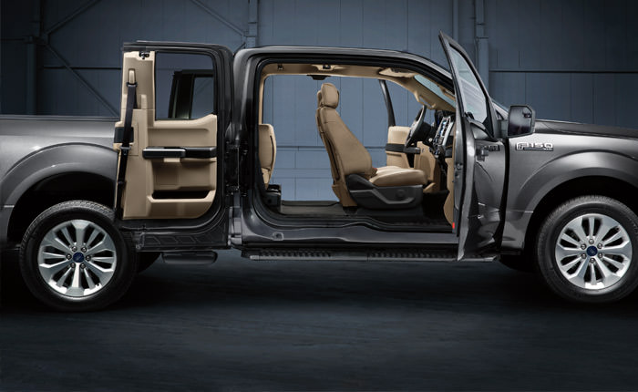 Ford F-150 Interior Advanced Safety Features