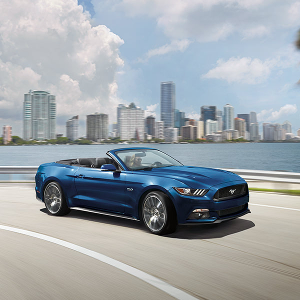 2017 Ford Mustang Blue Exterior