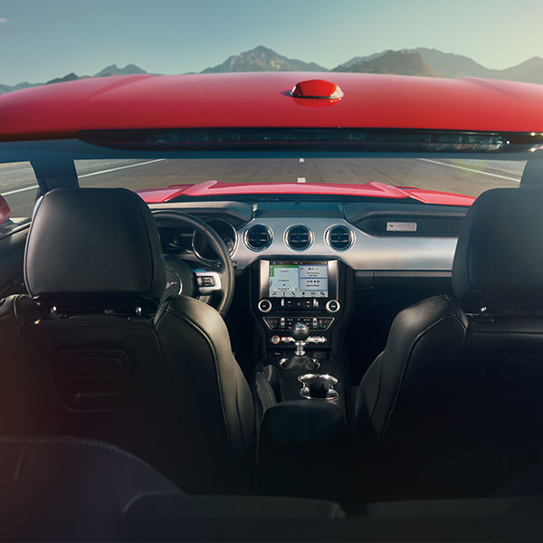 2017 Ford Mustang Interior View