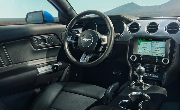 2017 Ford Mustang Interior Features and Design