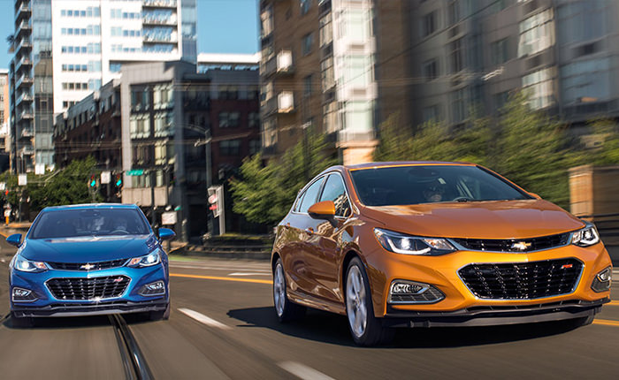 2017 Chevy Cruze Trims and Pricing