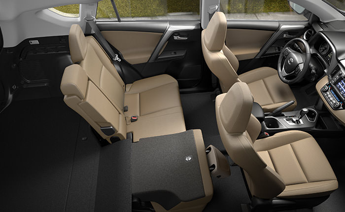 2016 Toyota Rav4 interior Design and Features
